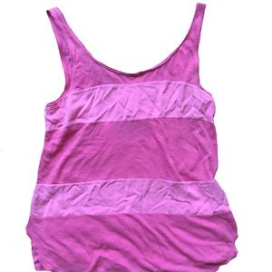 Lilka by Anthropology pink tank top